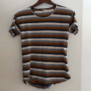 Madewell striped tee size small